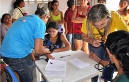 Multirão da saúde contempla comunidade do Portinho