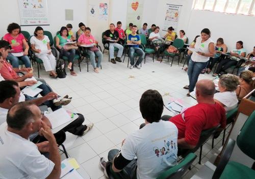 Agentes de saúde de Parnaíba se qualificam em Educação Popular em Saúde