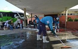 Terminal Rodoviário de Parnaíba recebe ações de limpeza
