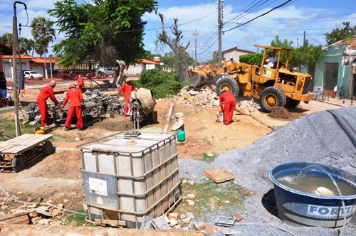 Prefeitura investe em reformas de espaços públicos na Ilha de Santa Isabel