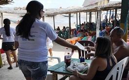 Sedesc realiza mobilização na Pedra do Sal contra abuso a crianças e adolescentes