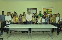 Prefeitura de Parnaíba recepciona novos médicos e enfermeiros do Provab