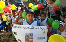 Projeto de conscientização sobre uso da faixa de pedestres realiza atividades de encerramento