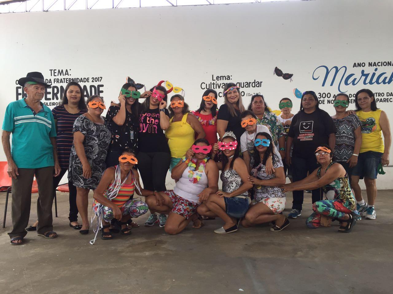 Equipe de saúde (Nasf) realiza evento de carnaval no Bairro São José – módulo6