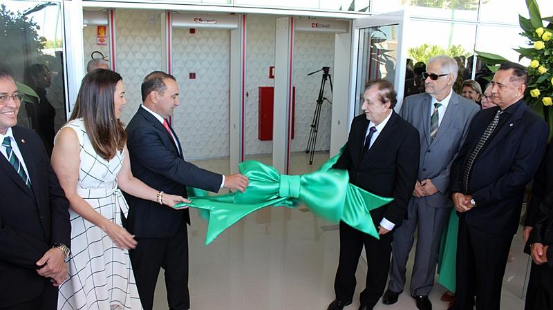 Prefeito Mão Santa participa da inauguração das novas instalações do Fórum da Comarca de Parnaíba