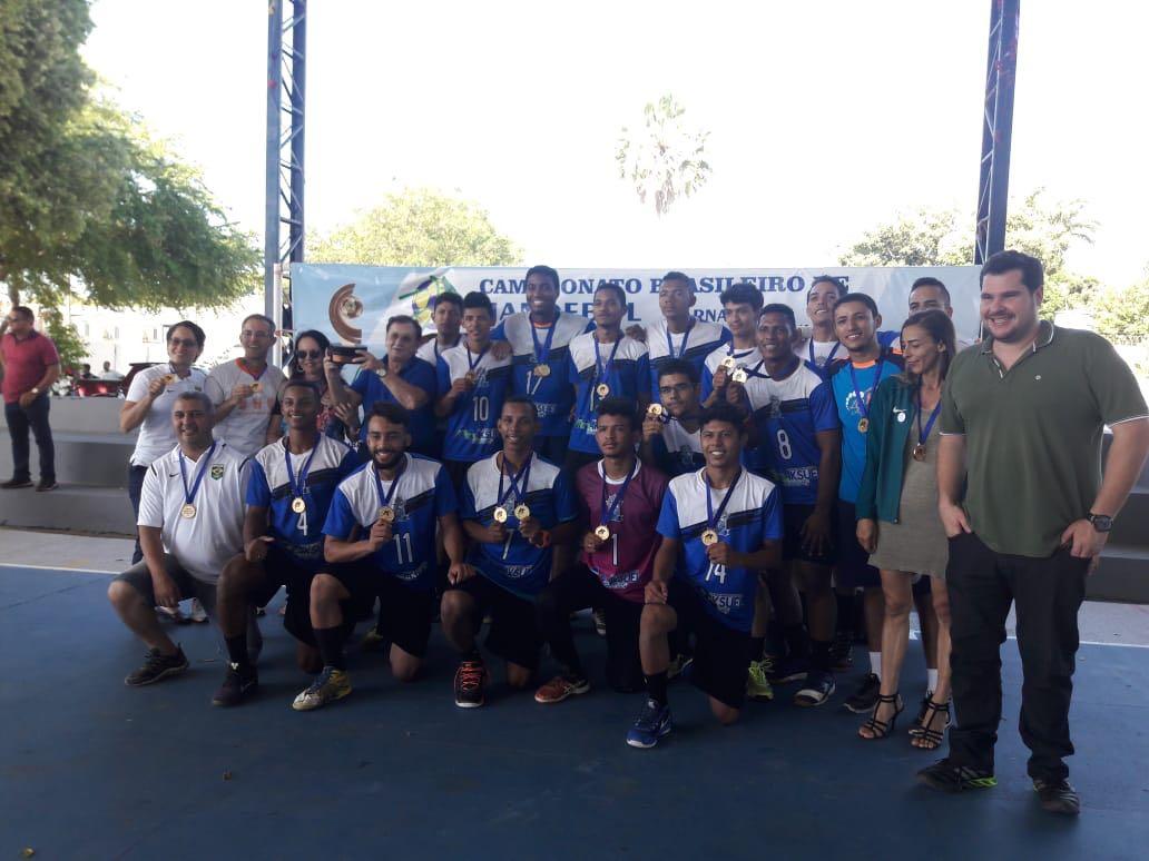 Encerrado com sucesso em Parnaíba Campeonato Nacional de Handebol realizado na Escola Roland Jacob
