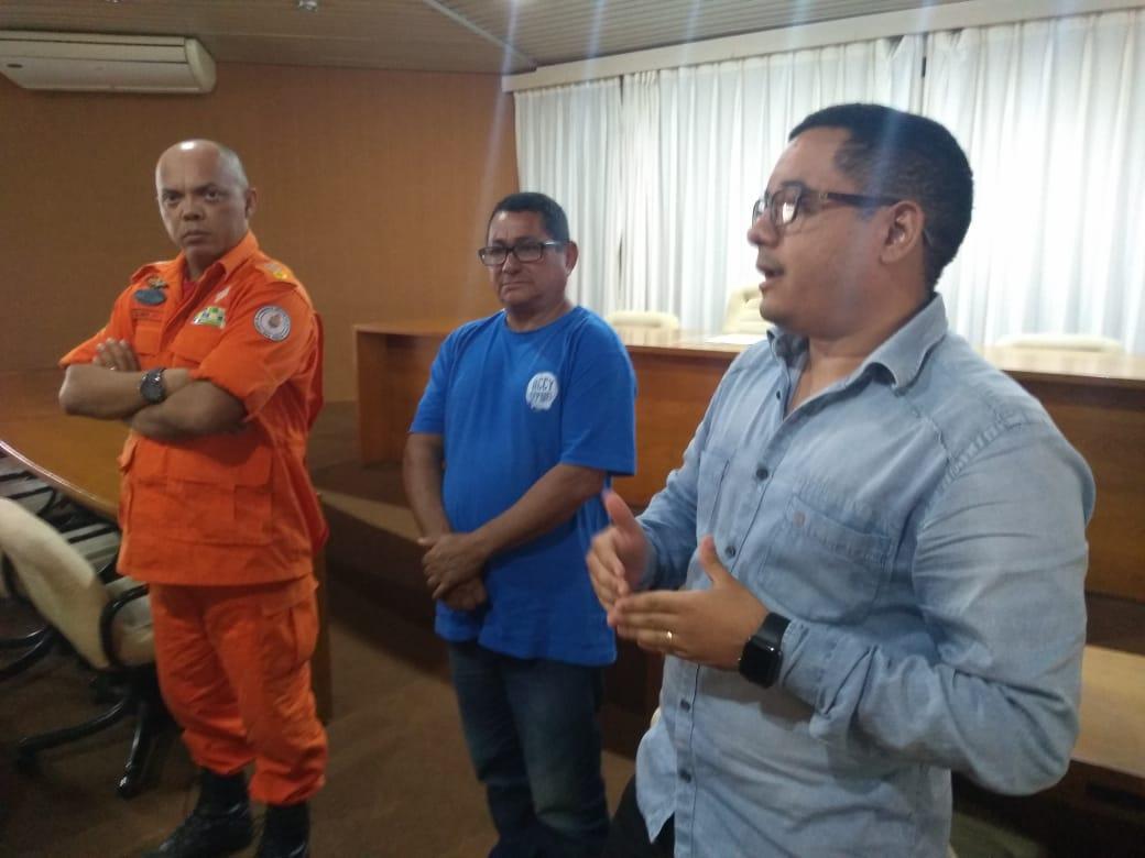 Prefeitura e Corpo de Bombeiros preparam ações preventivas contra consequências fortes chuvas no município