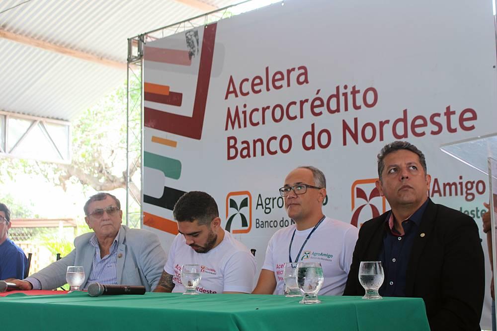 """Prefeito Mão Santa participa de evento """"Acelera Microcrédito Banco do Nordeste"""""""