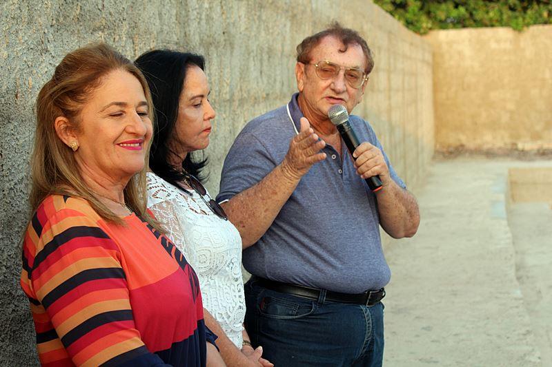Mão Santa inaugura reservatório pluviométrico no Bairro Planalto