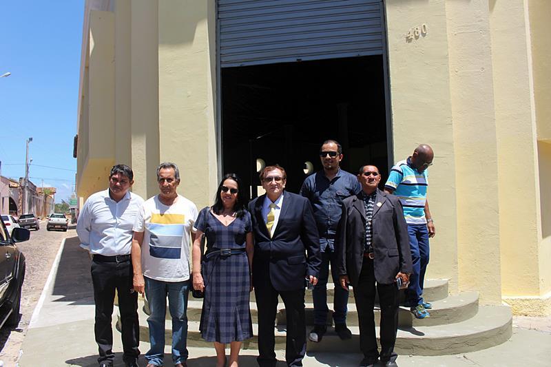 Mão Santa inaugura sede própria do Arquivo Público Municipal