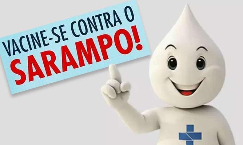 Campanha de Vacinação contra o Sarampo prossegue até o próximo dia 26