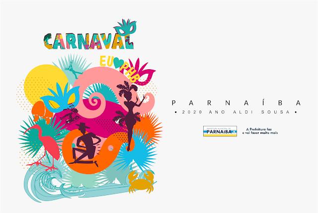 Divulgada a programação do Carnaval de Parnaíba 2020