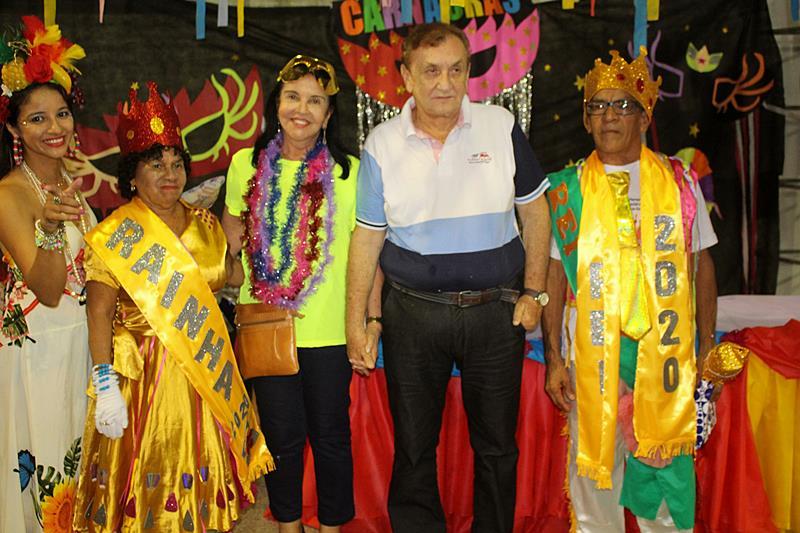 Prefeitura de Parnaíba realiza baile carnavalesco dos idosos 2020