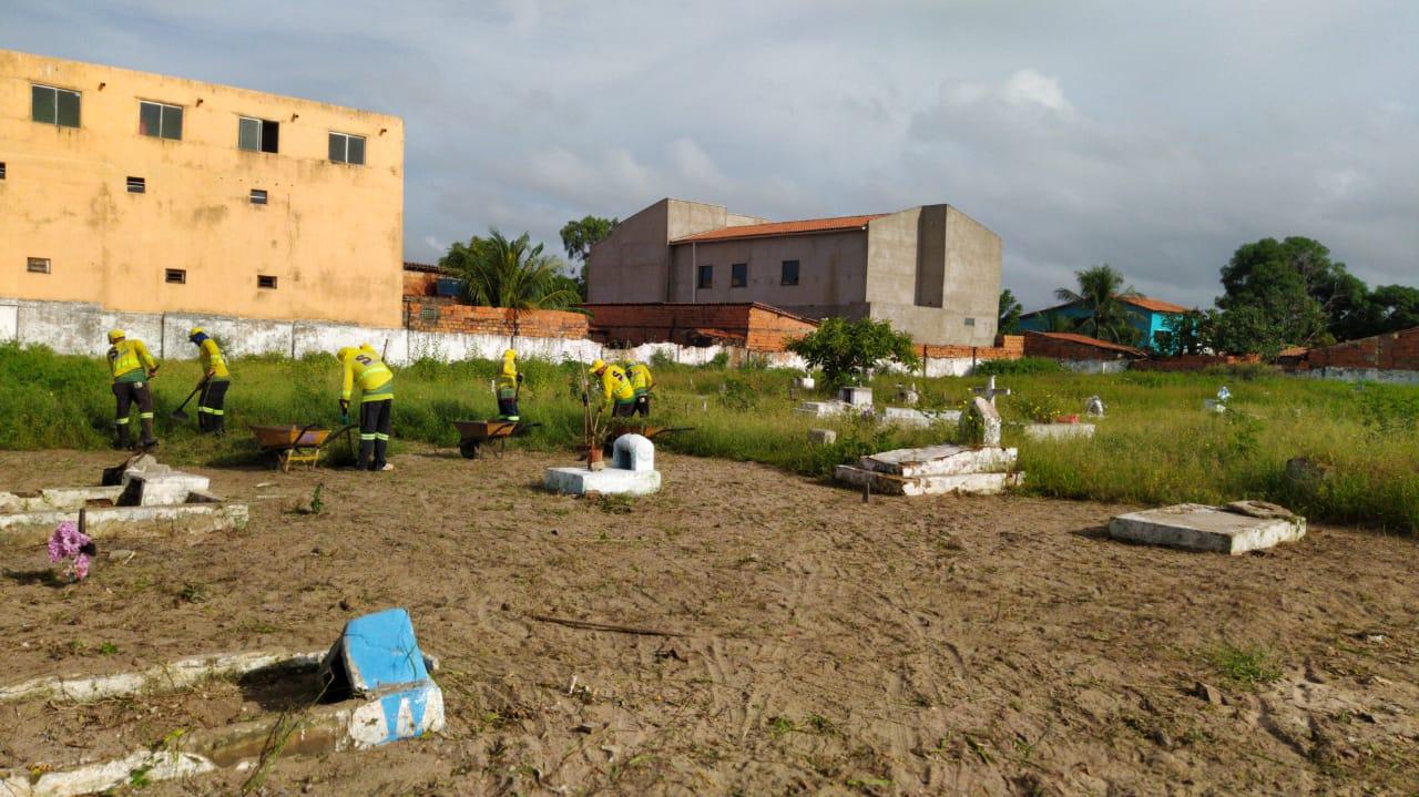 Prefeitura de Parnaíba reforça limpeza pública para evitar proliferação de doenças