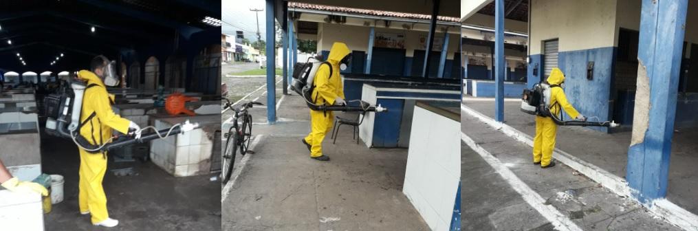 Mercados de Parnaíba são desinfectados em ações preventivas ao contágio de Covid-19