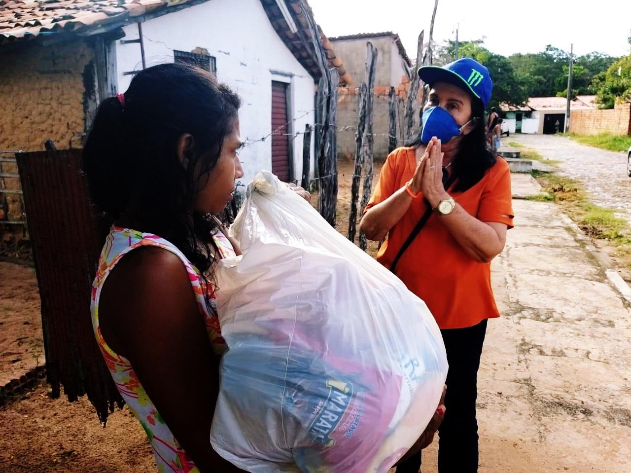 Quarentena: SEDESC ampliaassistênciaa famílias em situação de vulnerabilidade em Parnaíba