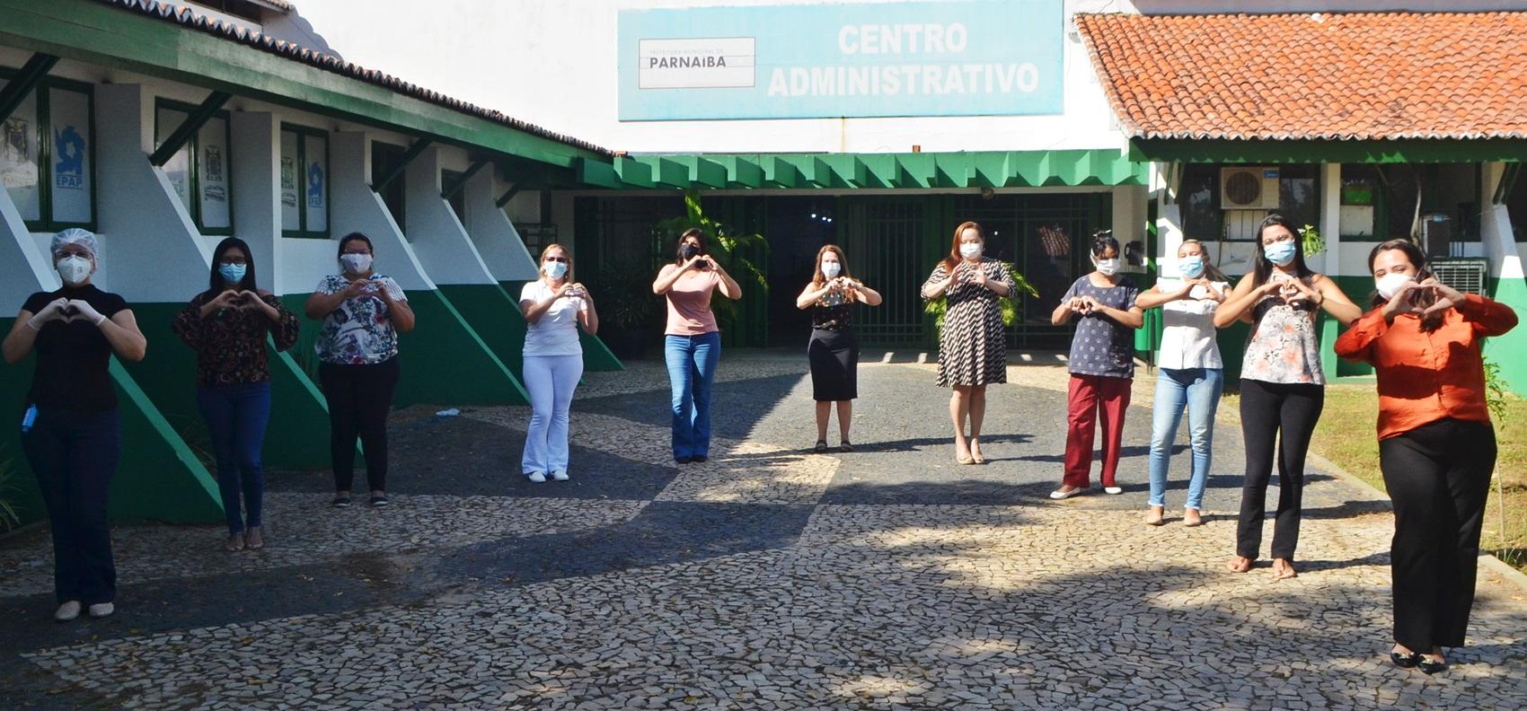 Prefeitura de Parnaíba parabeniza profissionais da Enfermagem que atuam diuturnamente no enfrentamento à Covid-19