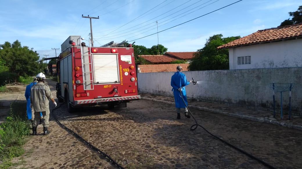 Prefeitura de Parnaíba promove desinfecção no Bairro Igaraçu