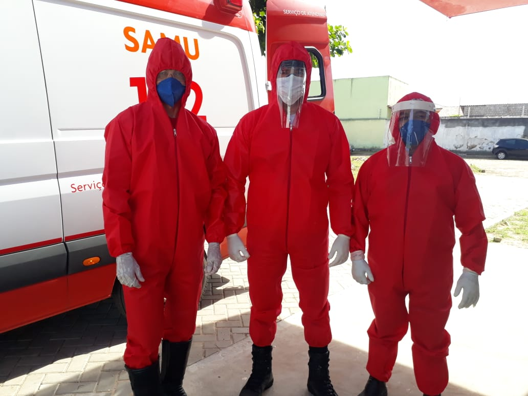 SAMU, Pronto Socorro Municipal e UBS recebem reforço de EPIs para atendimentos a casos de Covid-19 em Parnaíba