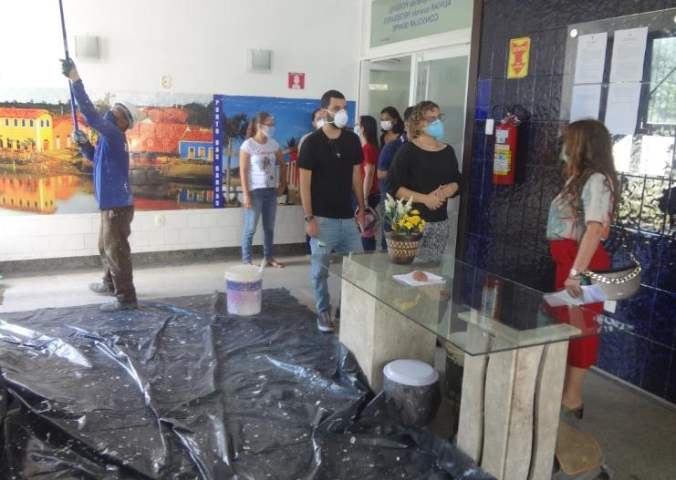 Prefeito Mão Santa amplia área de atendimento a casos suspeitos de Covid-19 em hospital de campanha