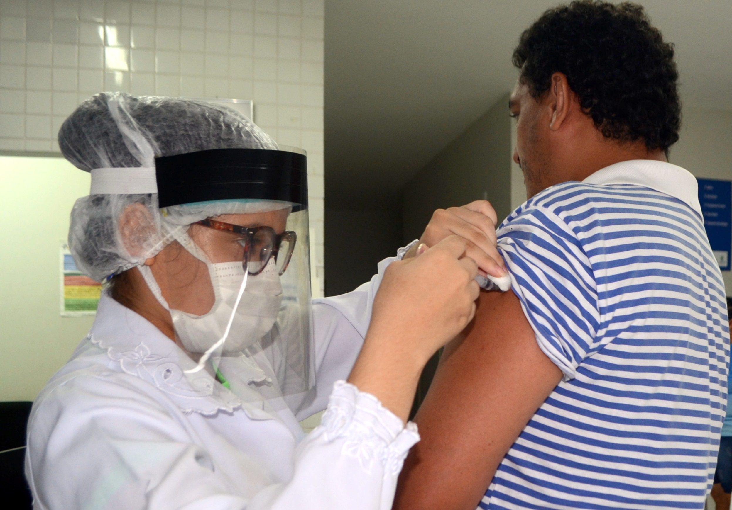 UBS de Parnaíba realizam 3ª etapa da vacinação contra gripe Influenza