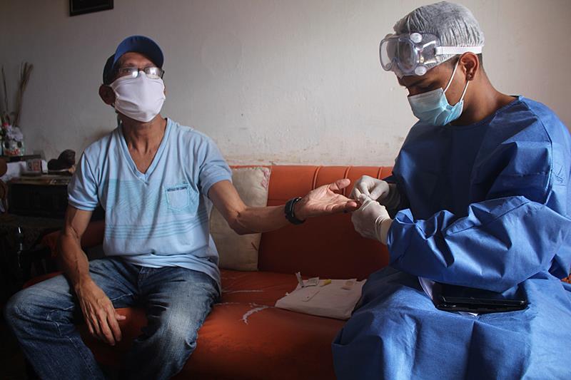 Prefeitura de Parnaíba e Ministério da Saúde iniciam pesquisa e testes em população para covid-19