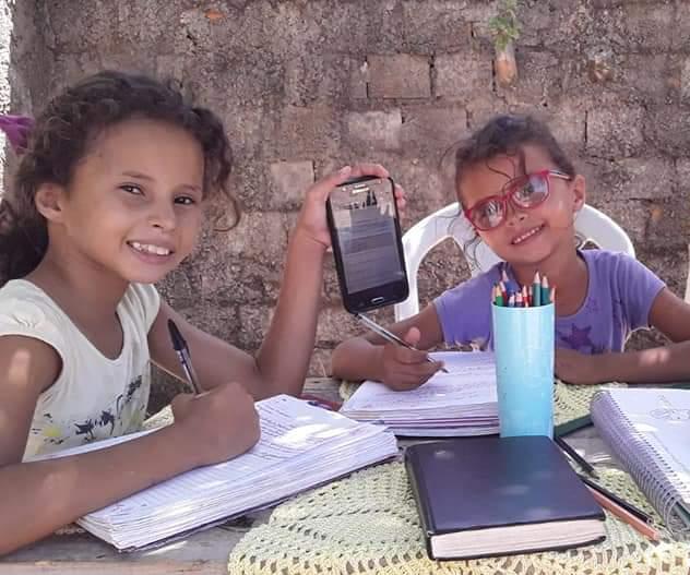Por dedicação de professores ao trabalho nas aulas remotas, estudantes das escolas municipais de Parnaíba demonstram agradecimento aos docentes