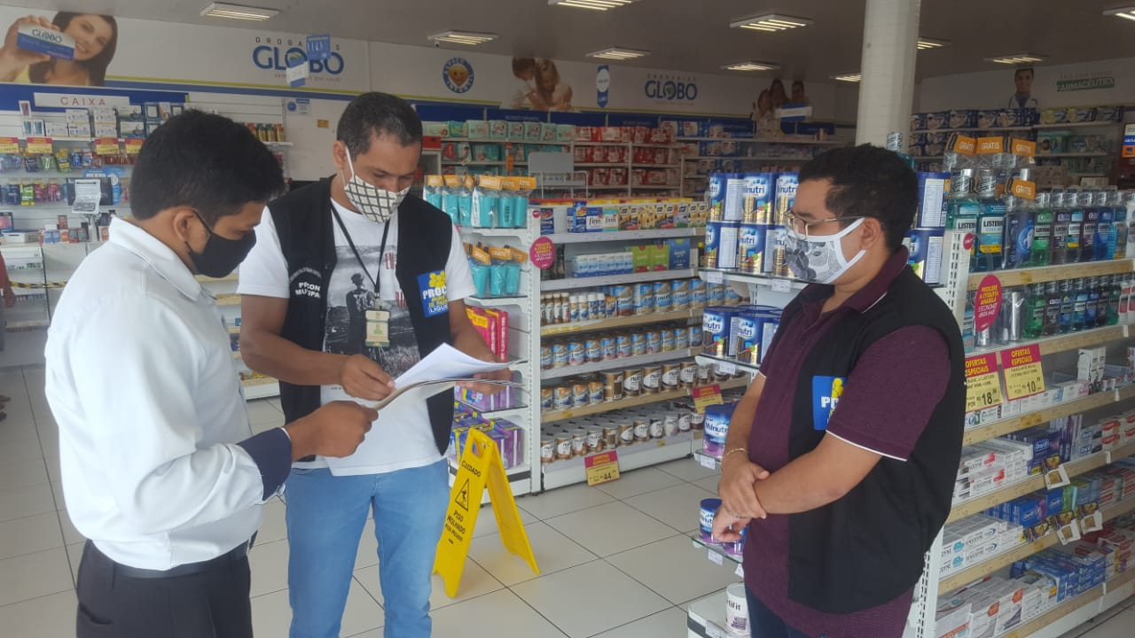 PROCON Municipal de Parnaíba realiza fiscalizações e notificações para evitar preços abusivos de produtos farmacêuticos
