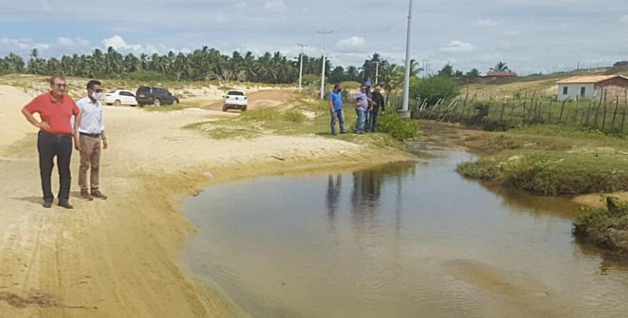 Obras da Prefeitura de Parnaíba levam infraestrutura e dignidade a moradores da comunidade Portinho