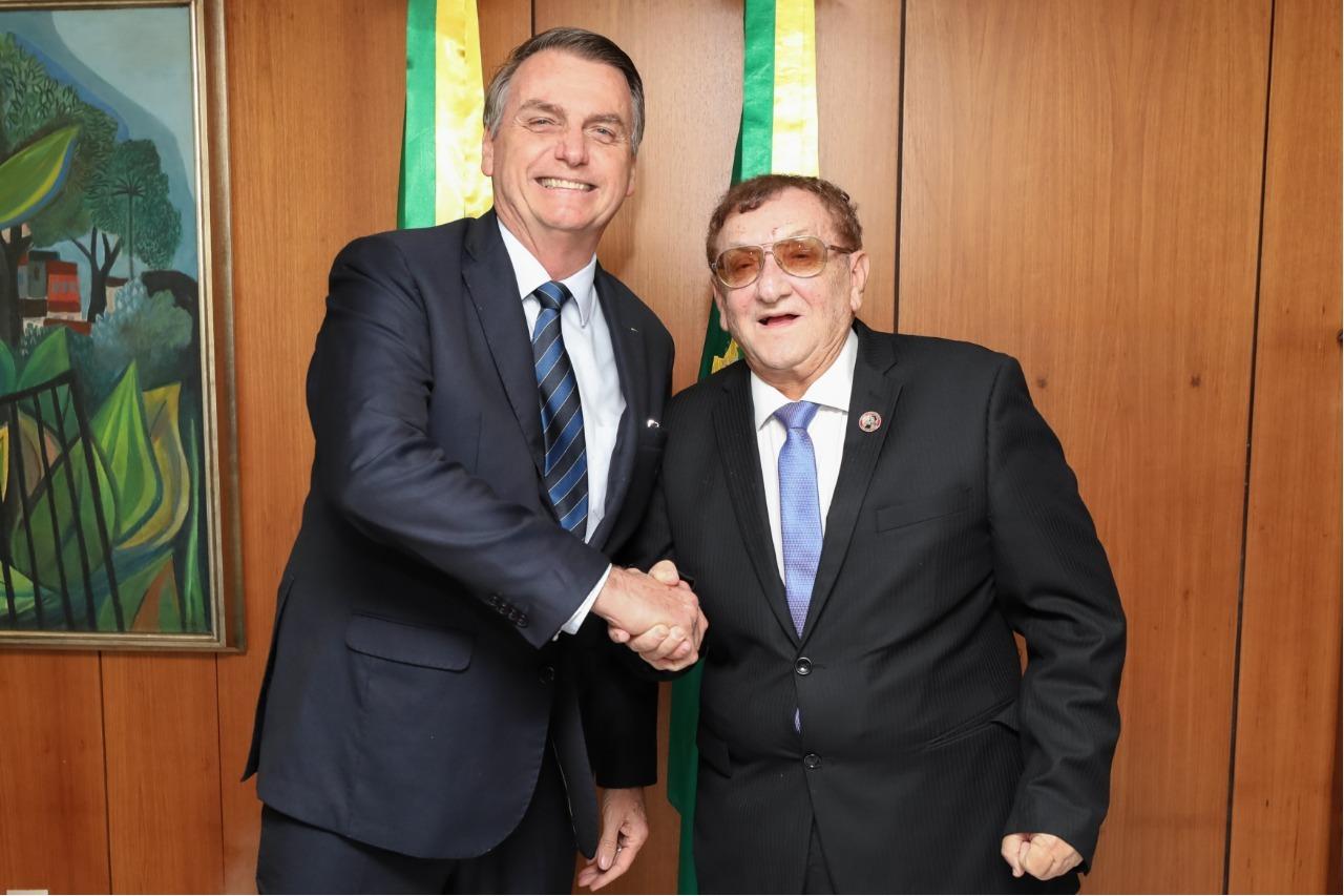 Prefeito Mão Santa convida Bolsonaro para as comemorações do Dia da Parnaíba