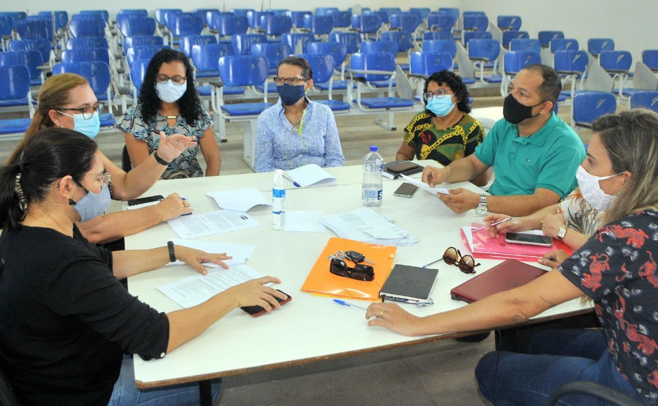 Gestores discutem retorno das aulas presenciais na rede municipal de ensino em Parnaíba