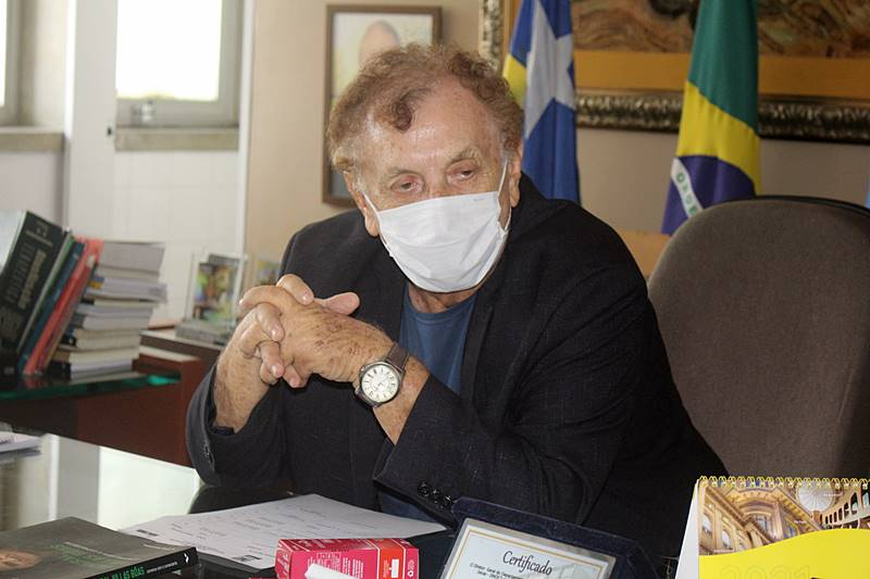 Prefeito Mão Santa lamenta falecimento do ex-prefeito de Teresina, Firmino Filho