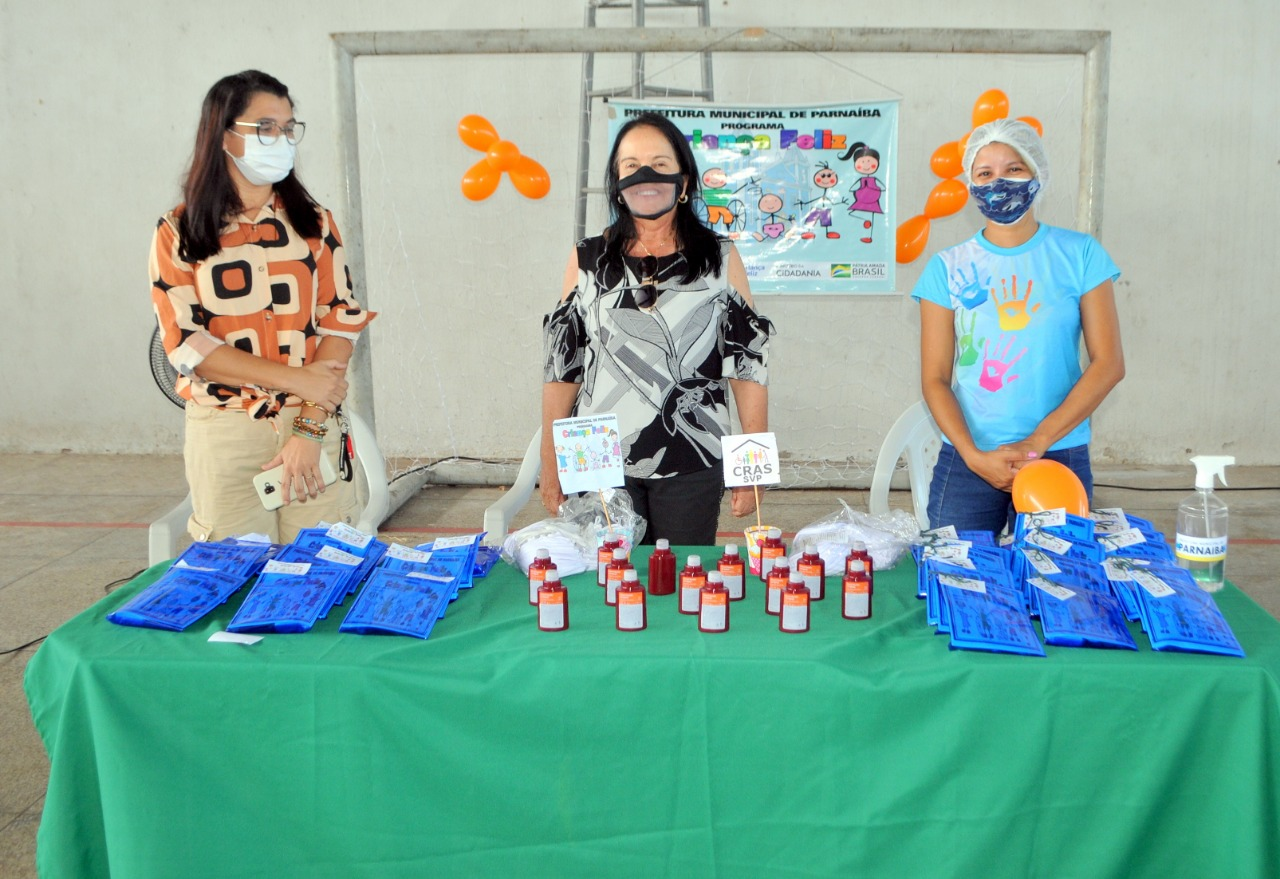 SEDESC realiza ações do Programa Criança Feliz em Parnaíba
