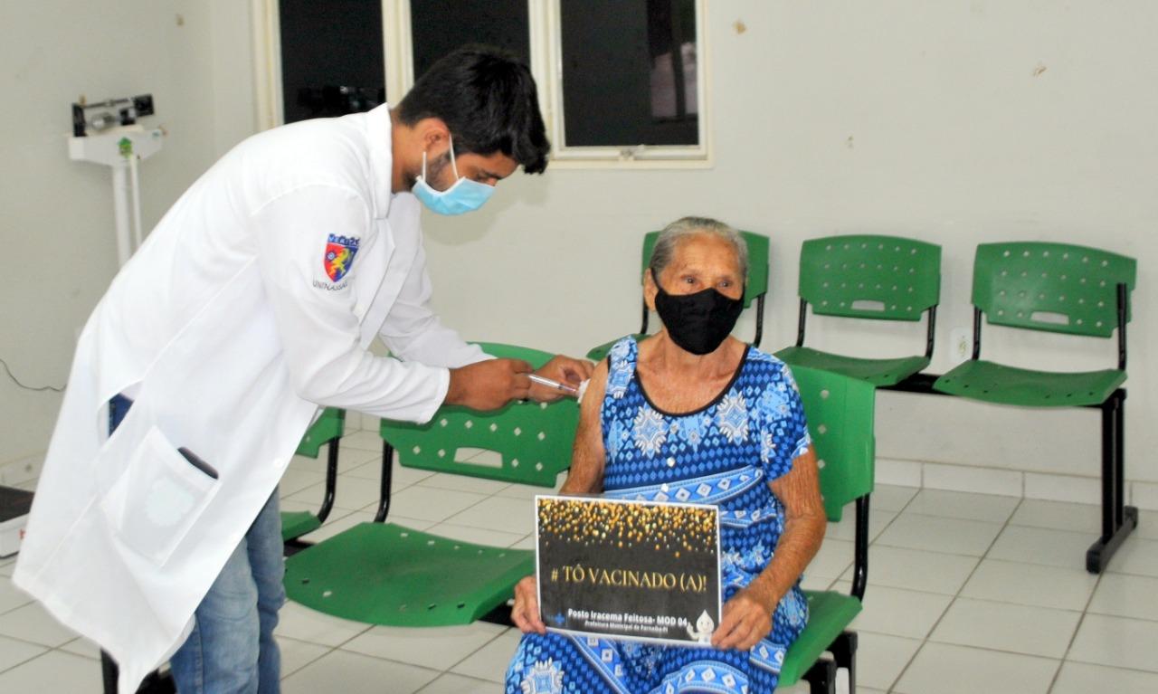 Parnaíba já registra mais de 28.500 doses de vacina aplicadas