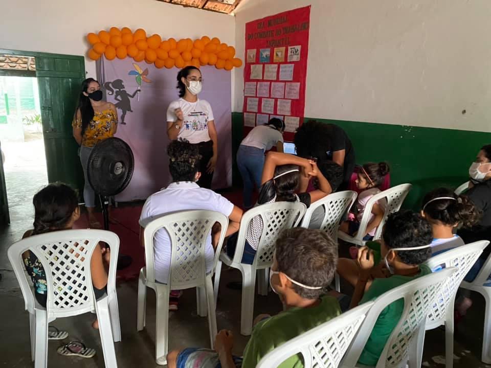 Prefeitura de Parnaíba realiza série de palestras e orientações sobre o Dia Mundial Contra o Trabalho Infantil